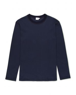 Women's Cellulock Cotton Long Sleeve T-Shirt in Navy