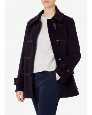 Women's Sunspel x Gloverall Duffle Coat in Navy