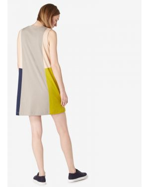 Women's Colourblock Dress in Thistle
