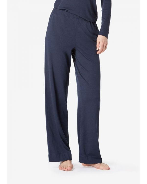 Women's Cotton Modal Lounge Pant in Navy