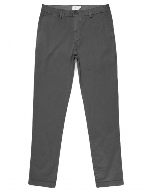 Chino stretch coupe slim pour homme en anthracite
