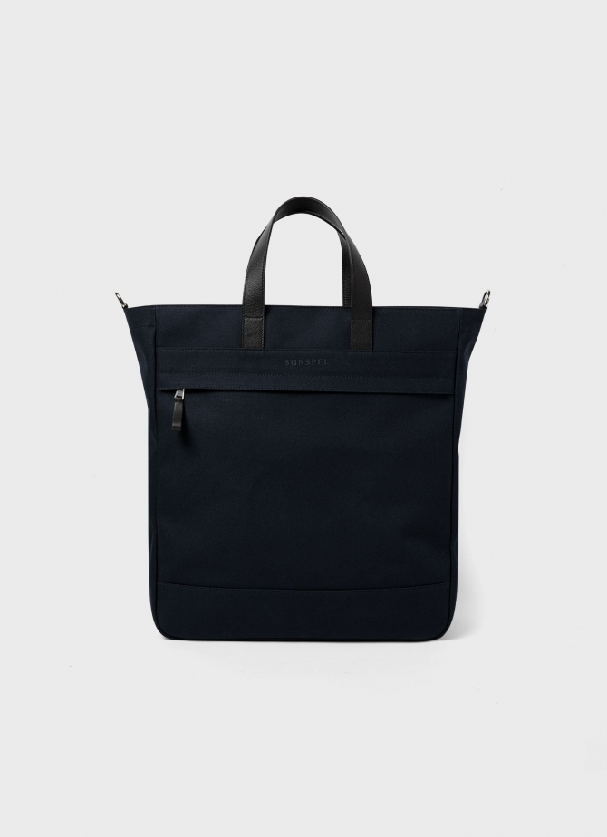 Travel Tote in Navy
