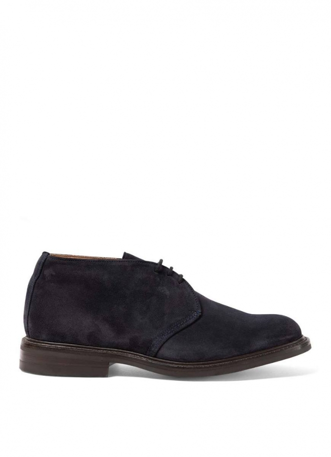 Chaussures montantes en daim Sunspel and Trickers