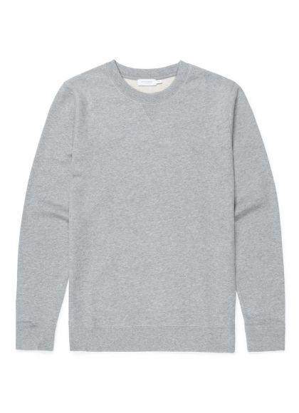 Men's Cotton Loopback Sweatshirt in Grey Melange